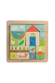 Tender Leaf Toys Garden Patch Puzzle - Product Mini Image