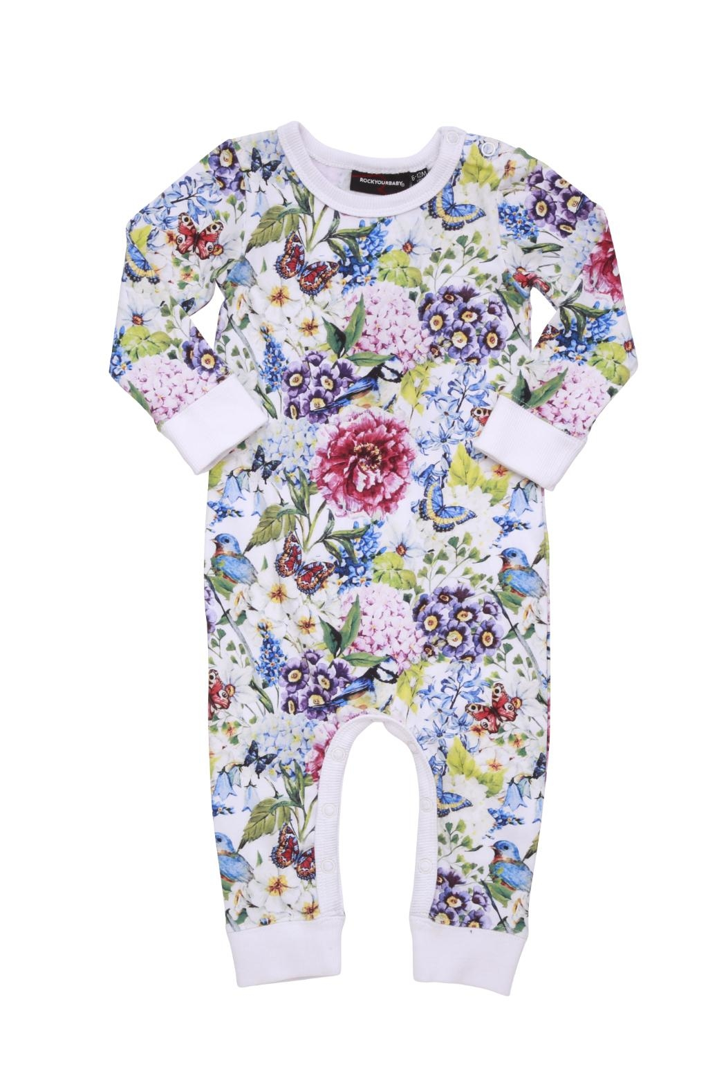 Rock Your Baby Garden Playsuit - Main Image