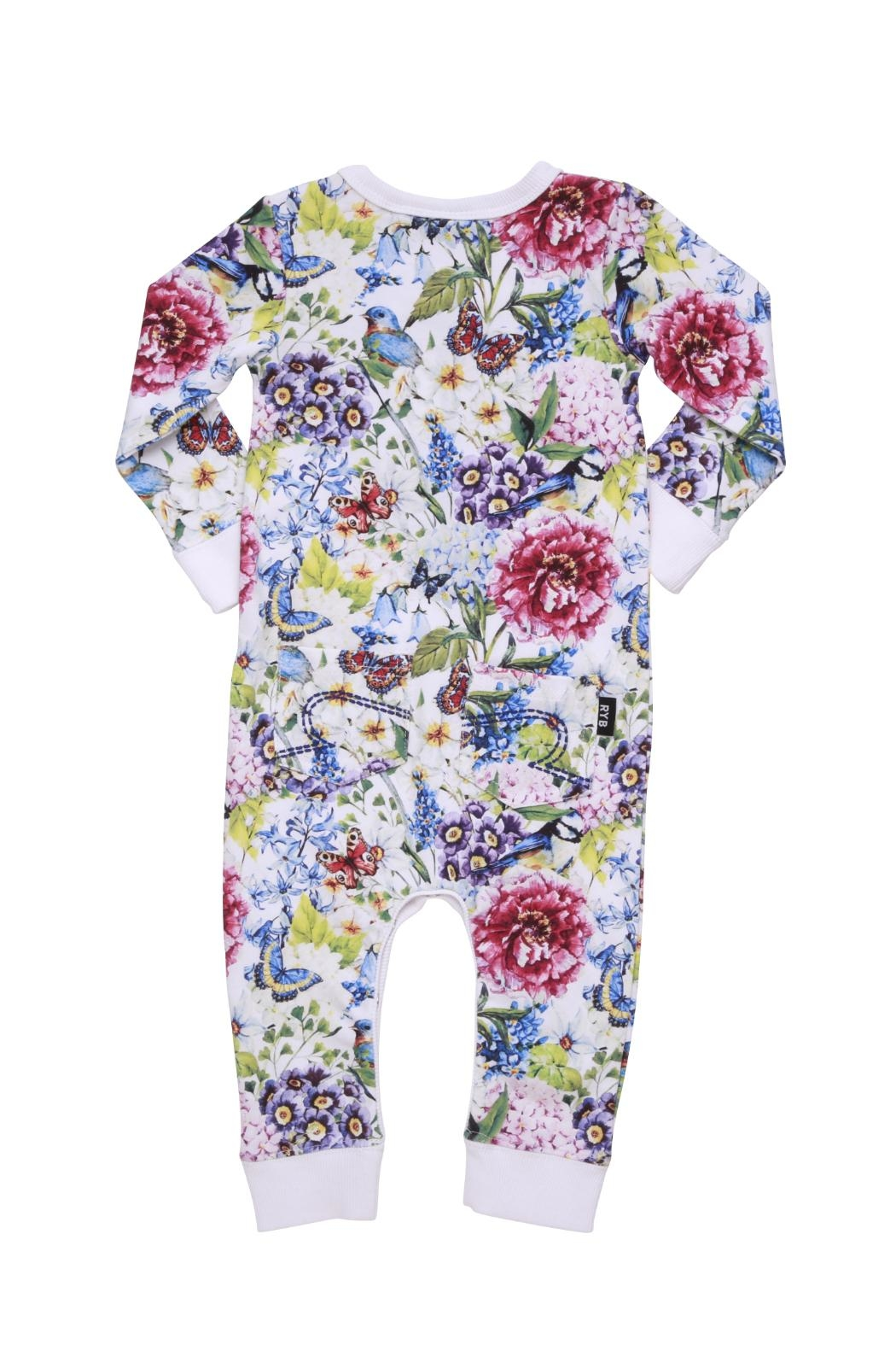 Rock Your Baby Garden Playsuit - Front Full Image