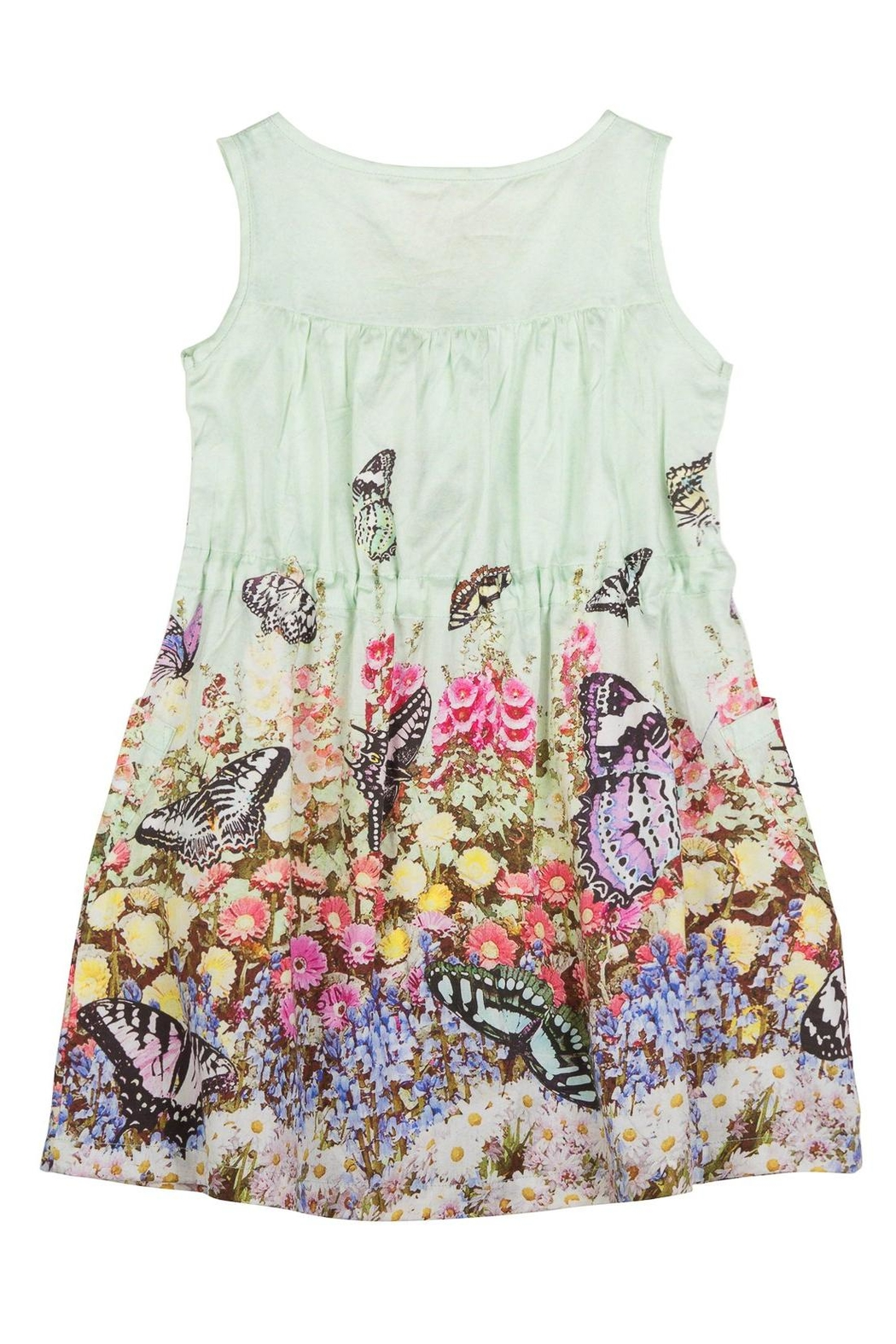 Paper Wings Garden Shift  Dress - Front Cropped Image