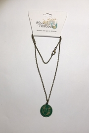 Gleeful Peacock Garden State Necklace - Product Mini Image