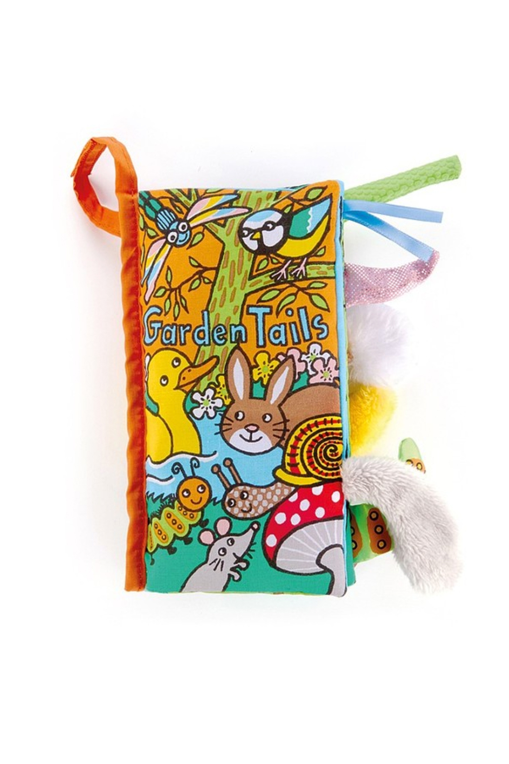 Jellycat Garden Tails Book - Main Image