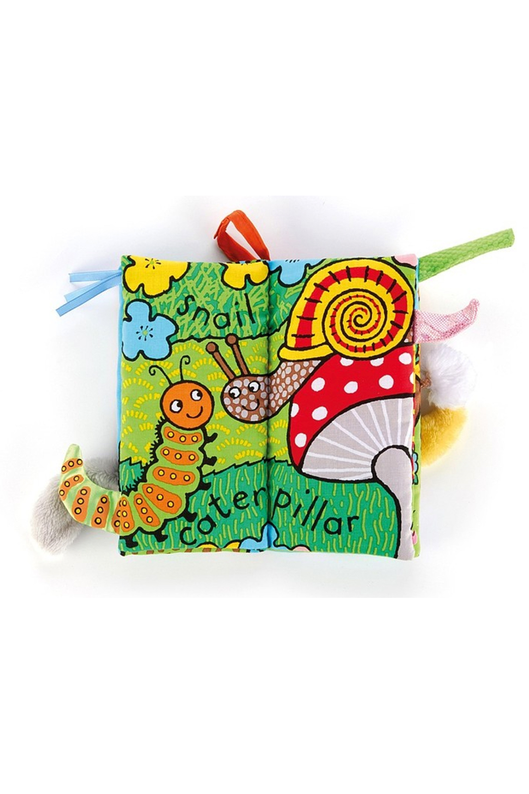 Jellycat Garden Tails Book - Front Full Image