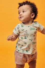 Lil Lemons Garden Tee - Front cropped