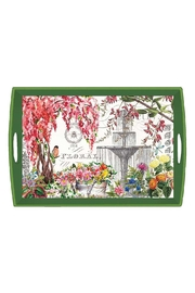 Michel Design Works Garden Wood Tray - Product Mini Image