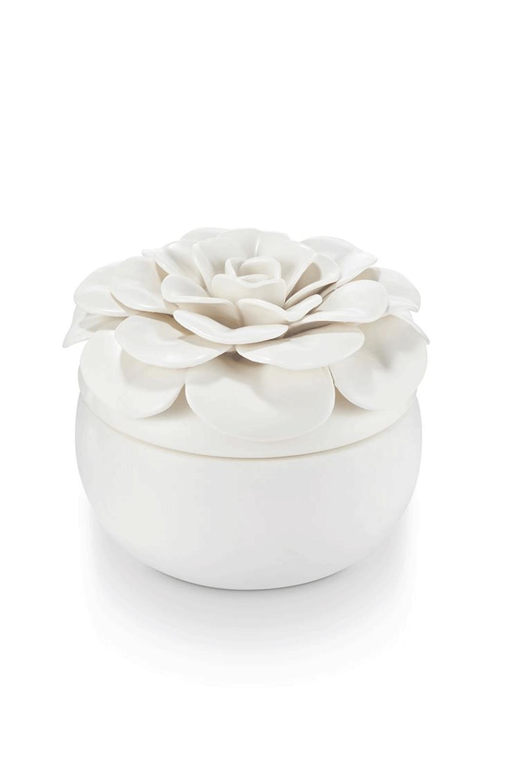 Illume  Gardenia Ceramic Flower - Main Image