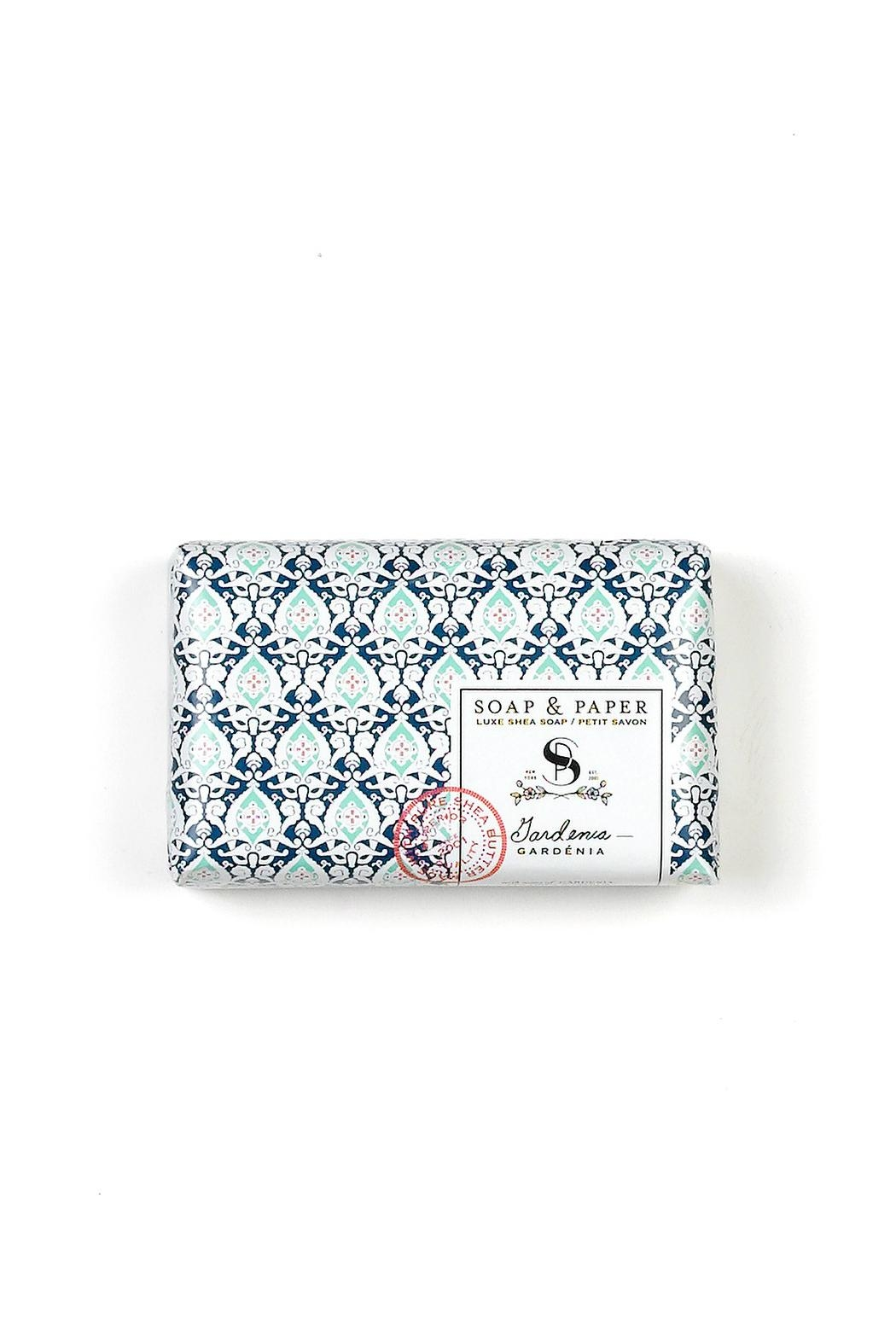 Soap and Paper Factory Gardenia Gift Set - Front Full Image