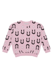 Gardner and the gang Star Unicorn Sweater - Front full body
