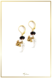 Malia Jewelry Garnet Quartz Earrings - Product Mini Image