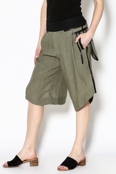 Shoptiques Product: Olive Knee Length Shorts