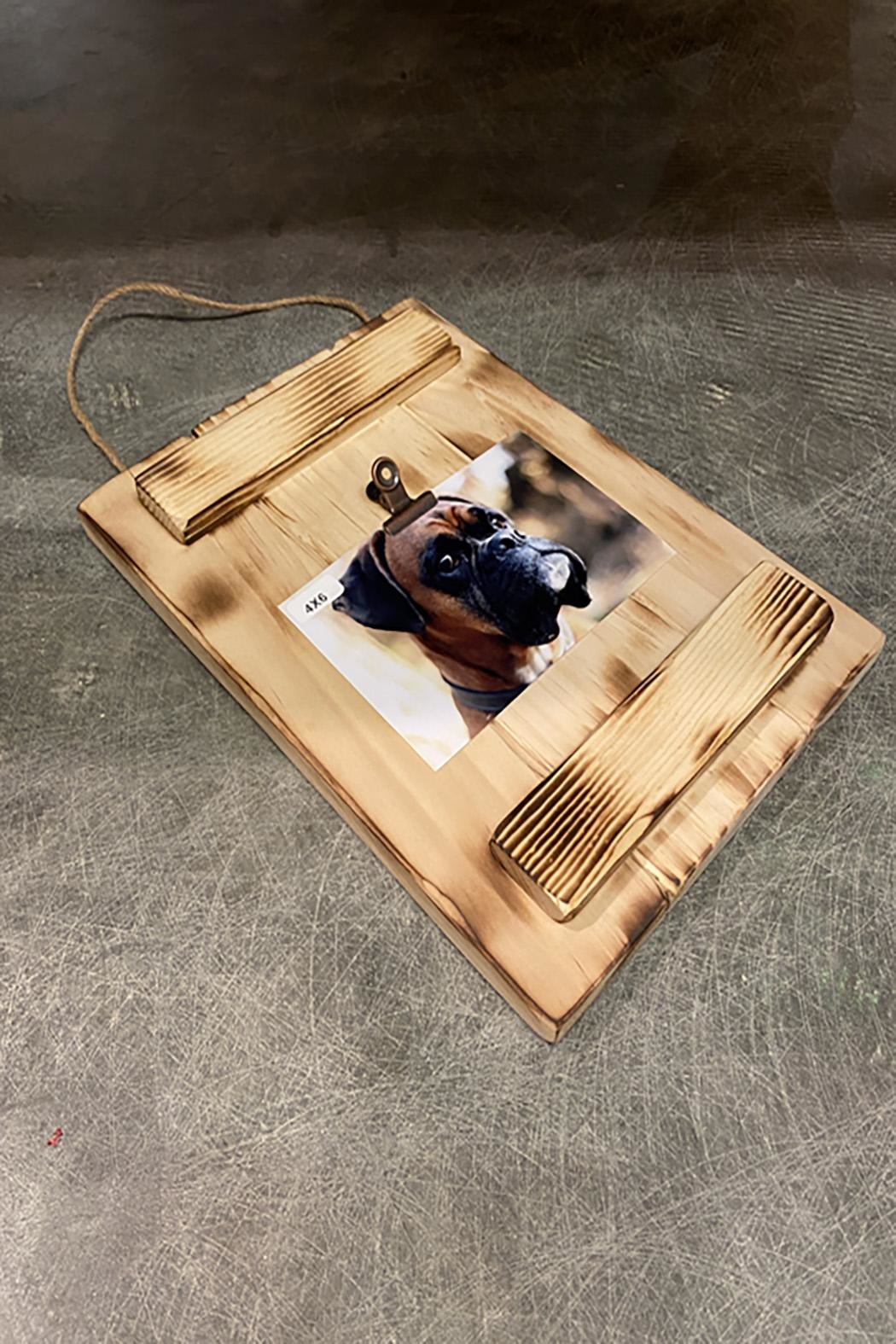 GARYK WOODWORKS Rustic Wooden Photo Wall Frames - Front Full Image