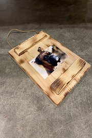 GARYK WOODWORKS Rustic Wooden Photo Wall Frames - Front full body