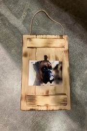 GARYK WOODWORKS Rustic Wooden Photo Wall Frames - Back cropped