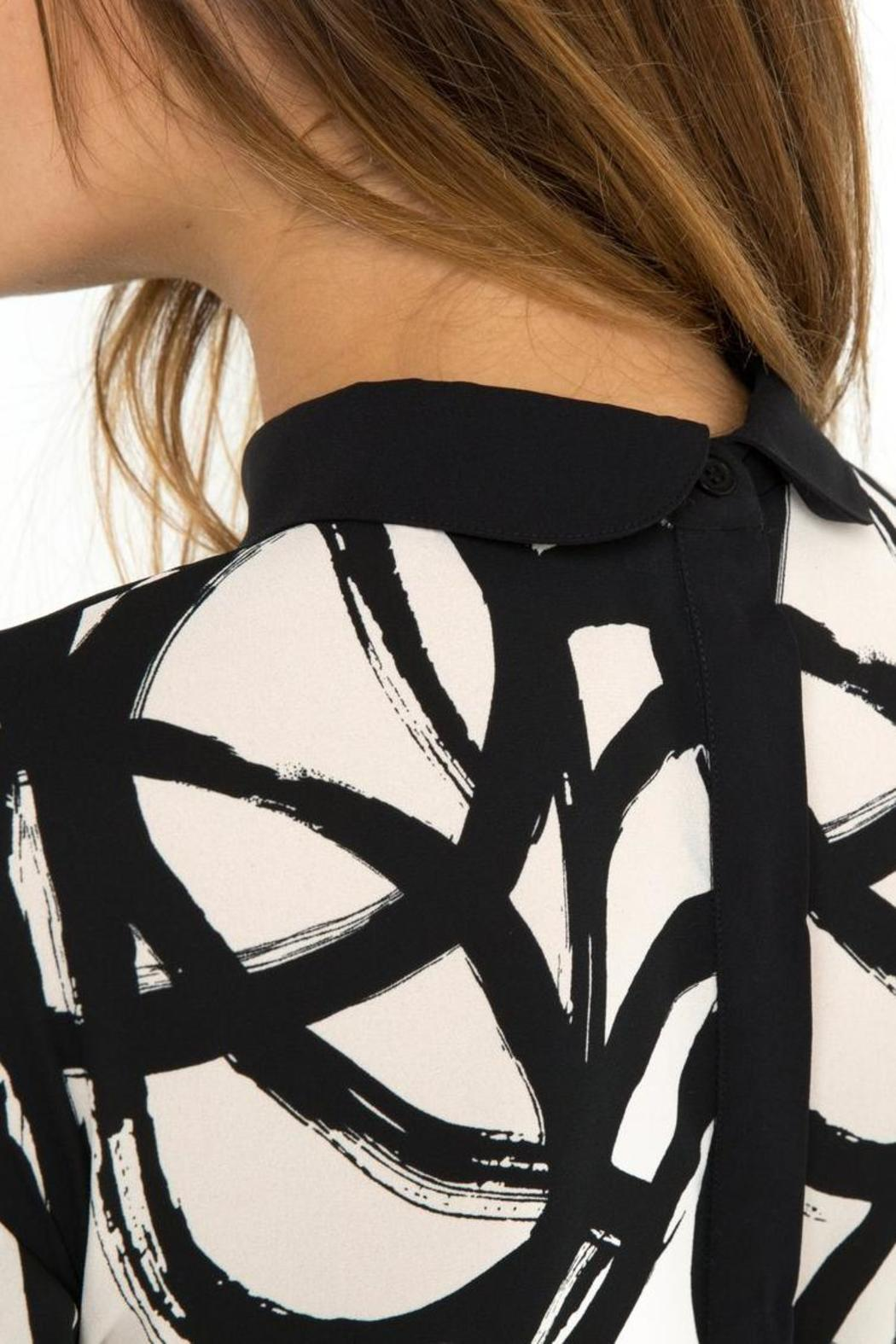 Gat Rimon All-Over Print Dress - Back Cropped Image