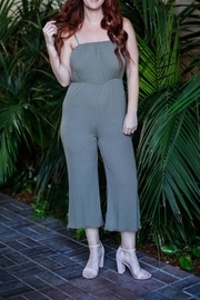 Grade and Gather Gather Green Jumpsuit - Front cropped