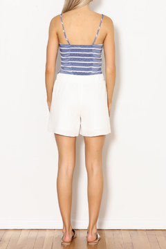 Lucy Paris Gathered Front Crop Top - Alternate List Image