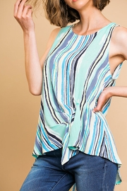 Umgee USA Gathered Front Top - Front cropped