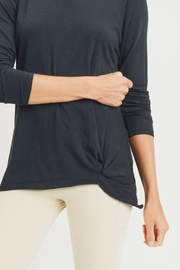 Mono B Gathered Pullover Top - Back cropped