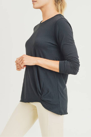 Mono B Gathered Pullover Top - Side cropped