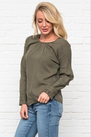 DE Collection Gathered Sleeve Top - Other