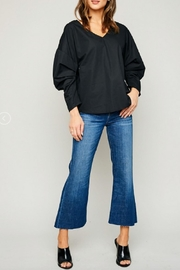 Hayden Los Angeles Gathered Sleeve Tunic - Front cropped