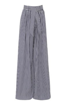 Martin Grant GATHERED WAIST STRIPED WIDE LEG PANT - Product List Image