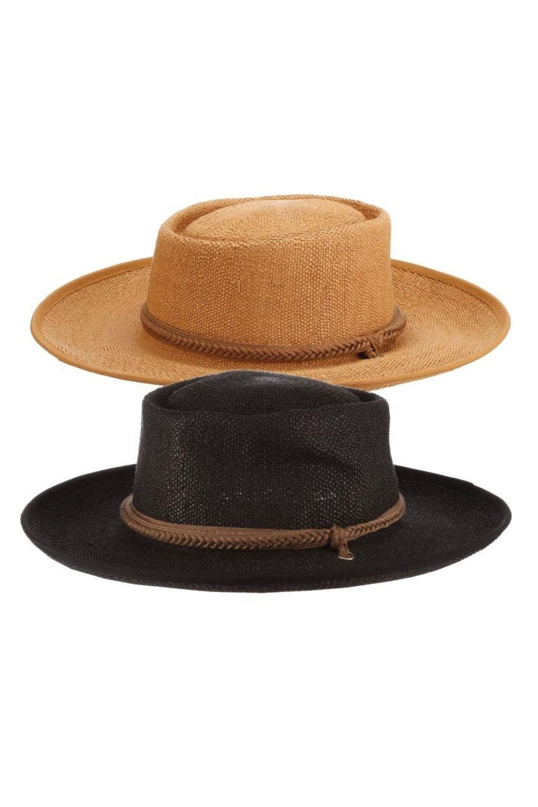 Dorfman Pacific  Gaucho Boho Hat - Front Cropped Image