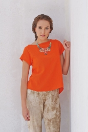 Gauzey Gauze Betsy Top - Front cropped