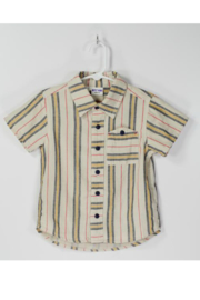 Bitz Kids  Gauze Striped Shirt - Front cropped