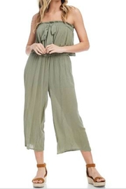 Fashion Wildcat Gauze Tie Jumpsuit - Product Mini Image