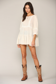 By Together Gauze Tunic Top - Product Mini Image