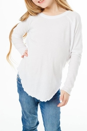 Chaser Gauzy Jersey Tee - Front cropped