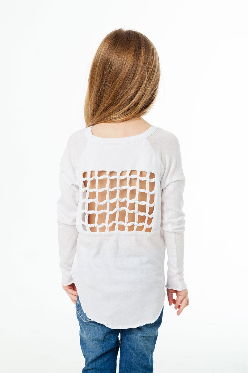 Chaser Gauzy Jersey Tee - Front Full Image