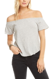 Chaser Gauzy Off-Shoulder Top - Product Mini Image