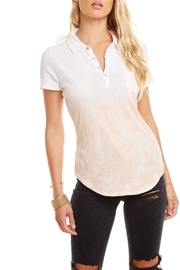 Chaser Gauzy Polo - Front full body
