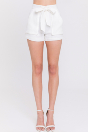 English Factory Gauzy Tie Front Shorts - Product Mini Image
