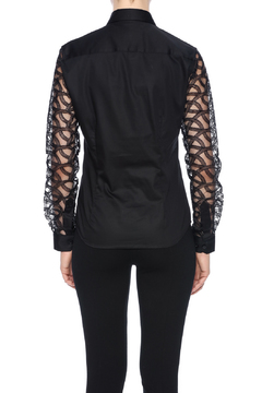Gazoil Black Lace Shirt - Alternate List Image