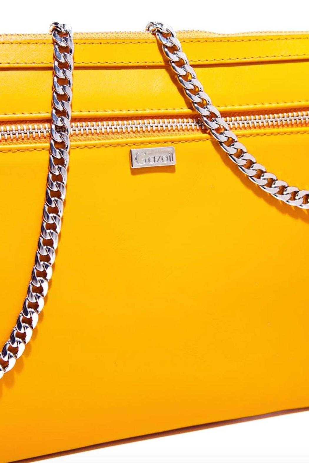 Gazoil Leather Bag - Back Cropped Image