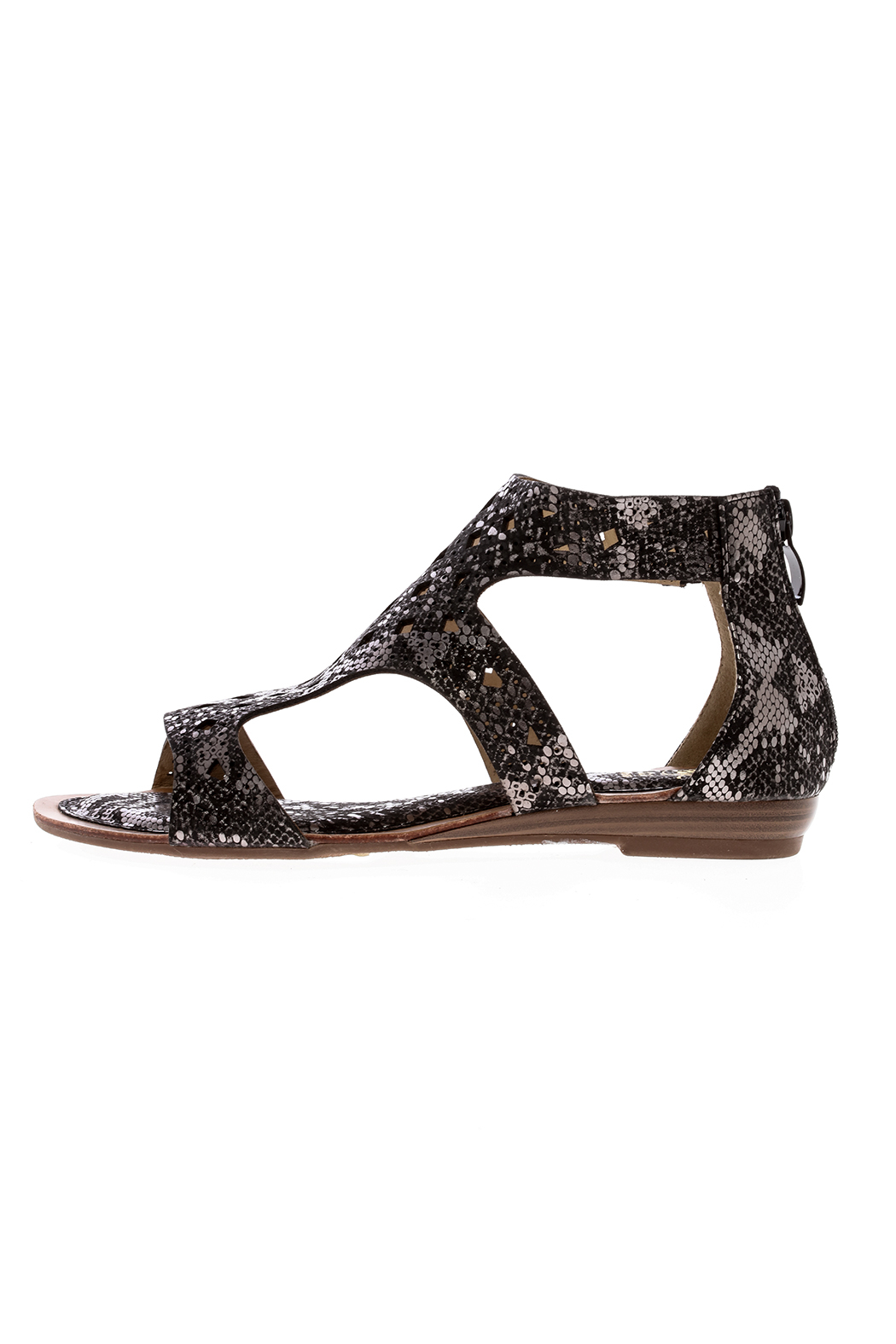 gc shoes Snake Skin Gladiator Sandal - Front Full Image