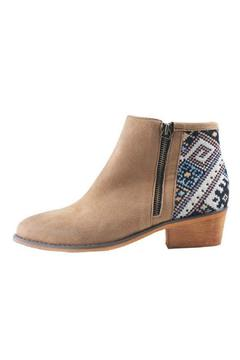 gc shoes Back-Print Tan Bootie - Alternate List Image