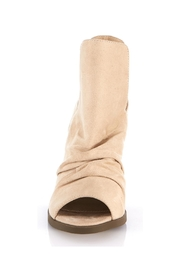 gc shoes Peep Toe Bootie - Front full body
