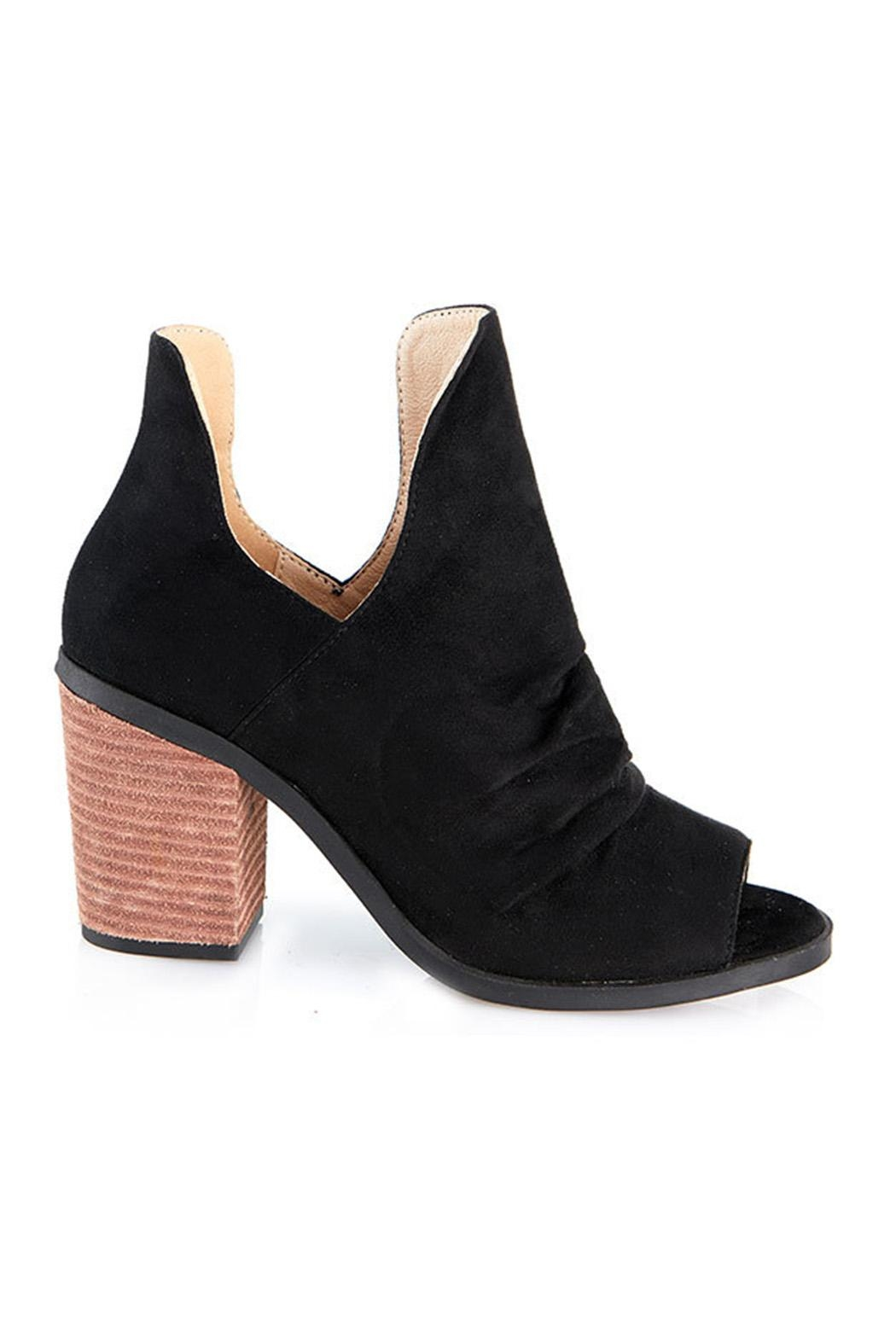 gc shoes Peep Toe Bootie - Side Cropped Image