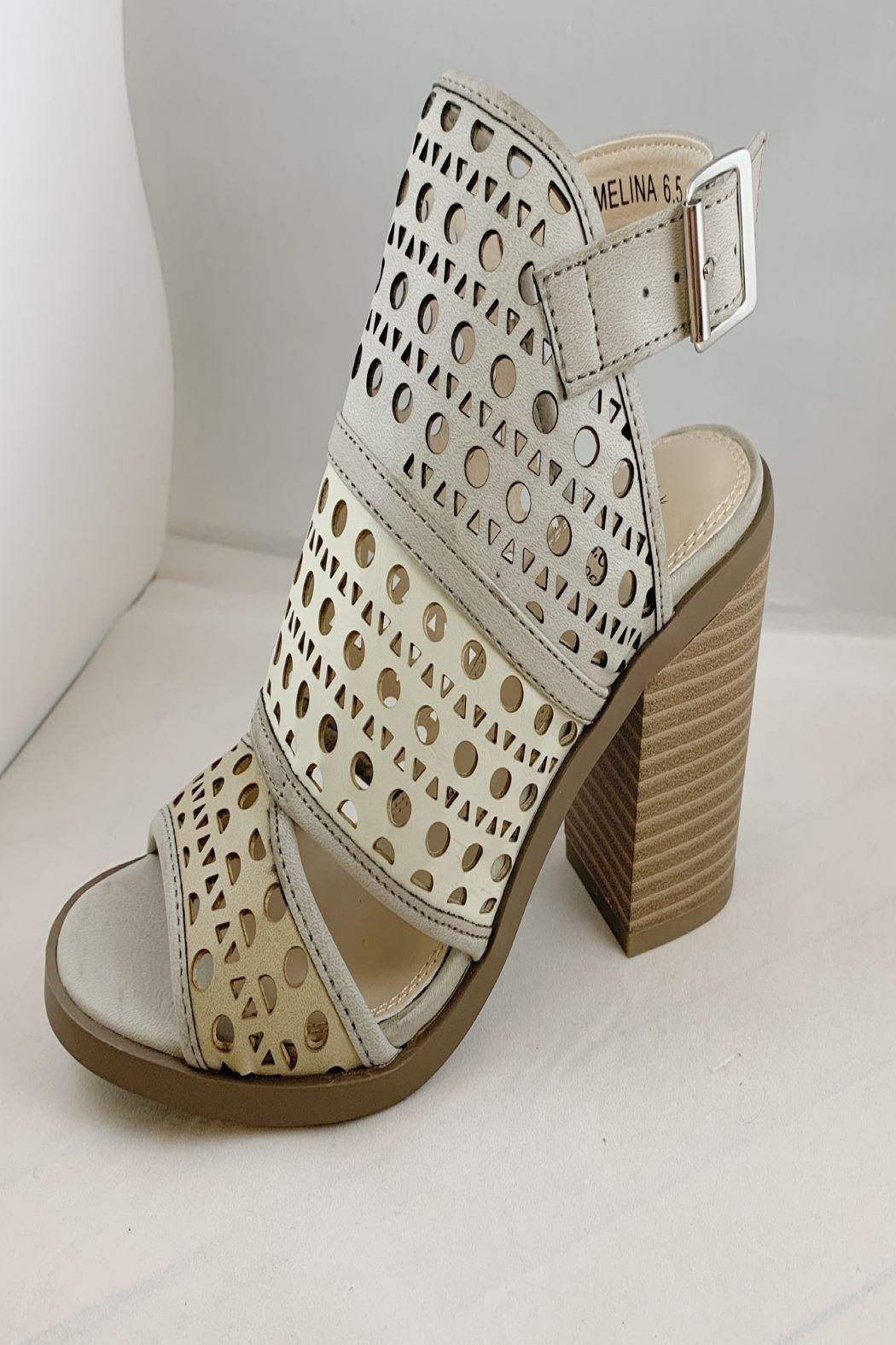 gc shoes Triple Tone Wedge - Main Image