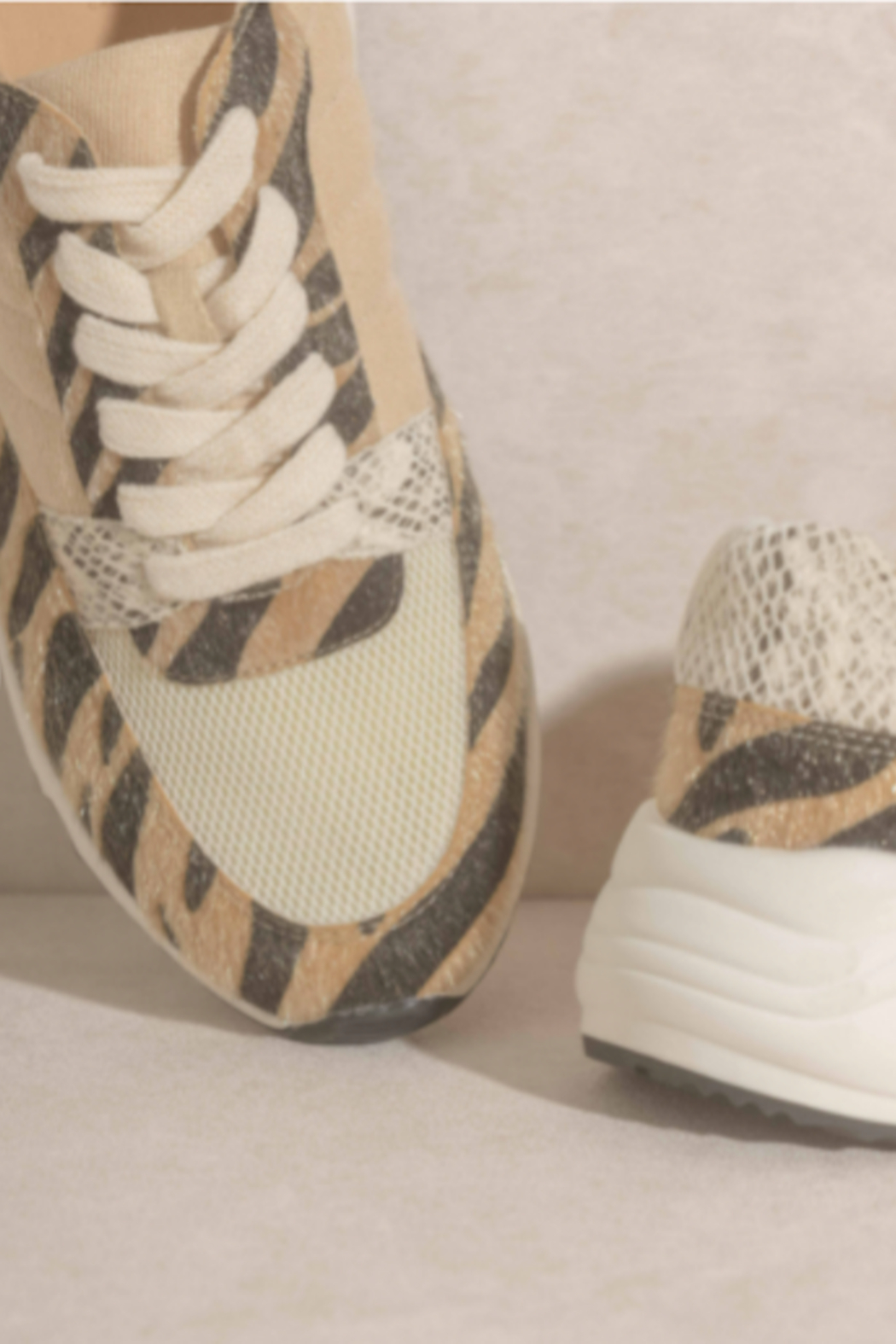 Oasis Society Geaux TIgs Sneaker - Side Cropped Image