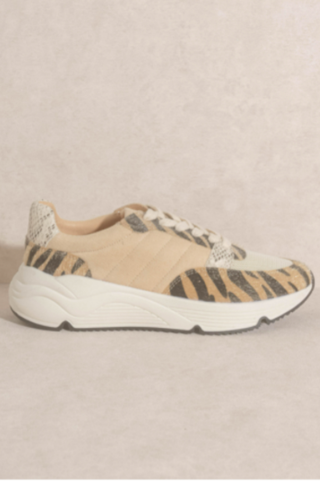 Oasis Society Geaux TIgs Sneaker - Front Full Image