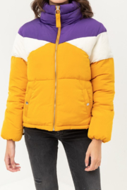 Love Tree Geaux Tiguhs Puffer - Front full body