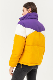 Love Tree Geaux Tiguhs Puffer - Side cropped