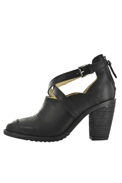 Shoptiques Product: Black Leather Heel