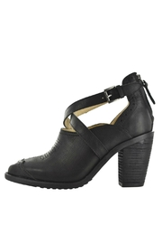 Gee Wawa Black Leather Heel - Product Mini Image