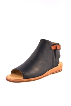 Shoptiques Product: Leather Open Toed Shootie